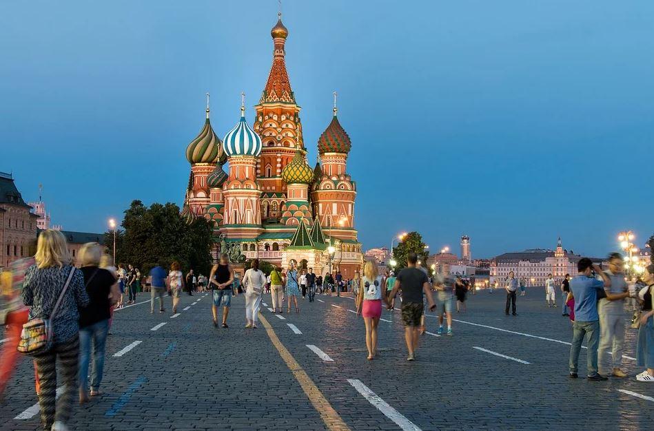 visite de la place rouge à Moscou Russie